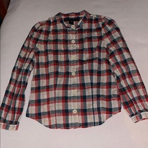 Marc by Marc Red Blue plaid